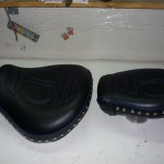 renowacja siodełka do motocykla