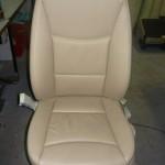 renowacja siedzenia samochodowego