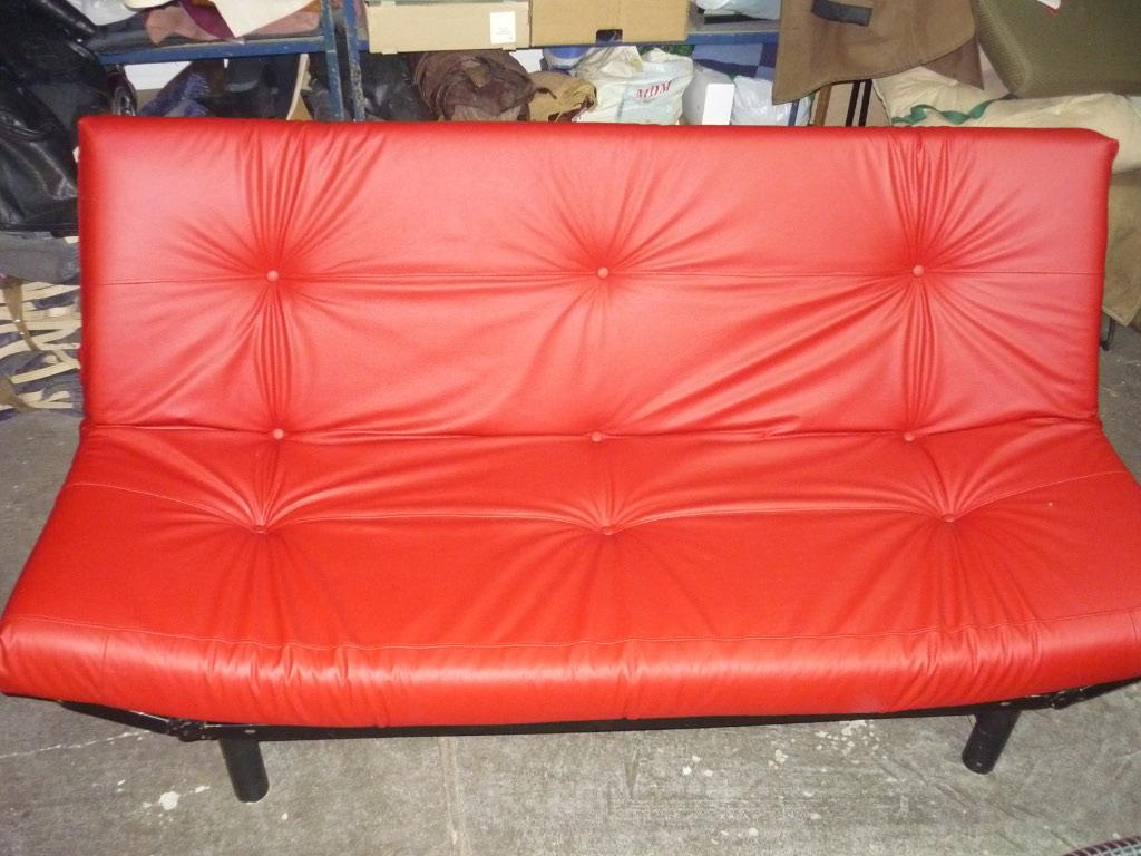 kanapa skórzana po renowacji