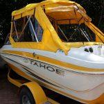 plandeka w łodzi szyta na miarę