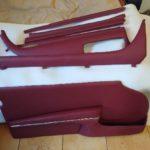 skórzane elementy tapicerki auta po renowacji