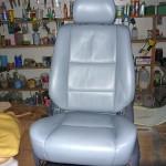 Siedzenie samochodowe po renowacji