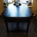 stół przed piaskowaniem